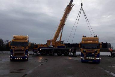 Transport en hijswerkzaamheden Potons Westergeest - Russcher