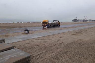 Stelconplaten strand den haag