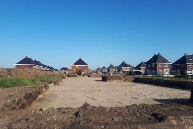 Grondverzet Wolvega 10 woningen project - Russcher