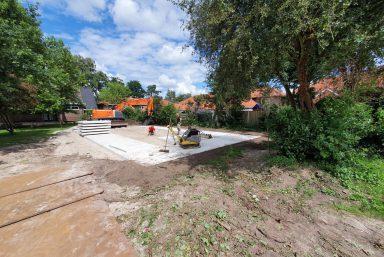 betonplaten leggen Hengelo