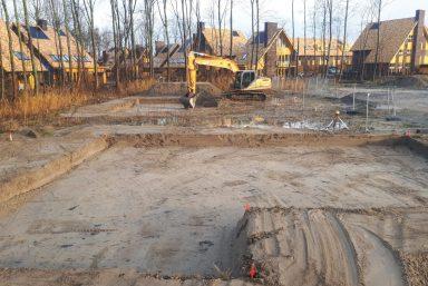 Ontgraven grond woningen almere