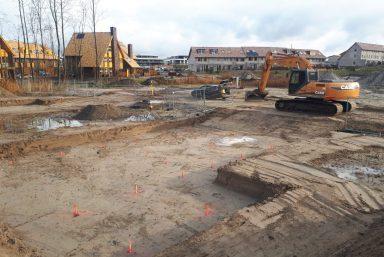 Werkzaamheden grond woningen almere
